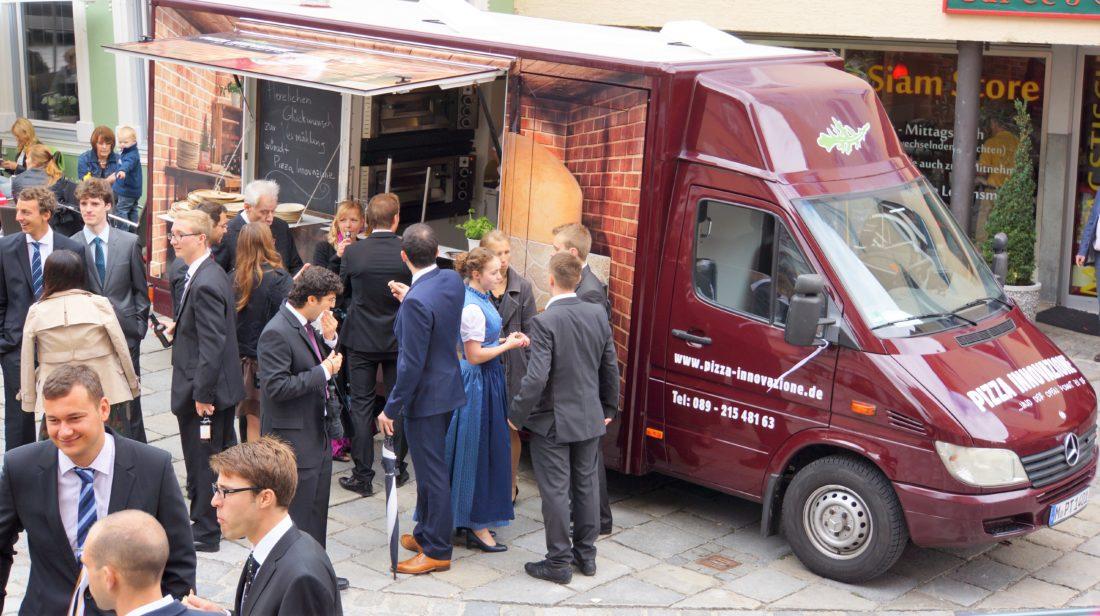 Pizza Truck Catering Hochzeit